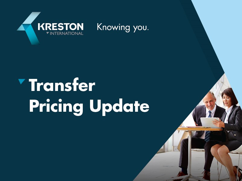 transfer pricing update
